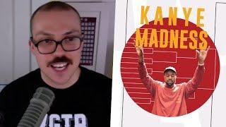 My Kanye Madness Bracket!
