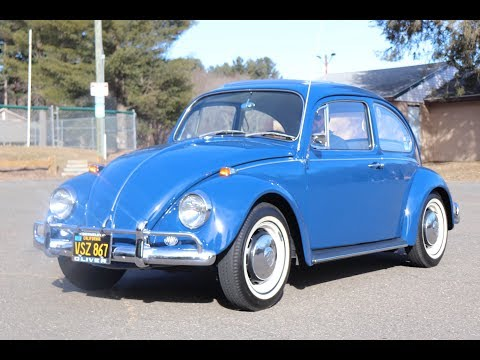 Driving The 1967 Volkswagen Beetle : Vw Bug Test Drive : Walk Around : & Some One Year Only Parts