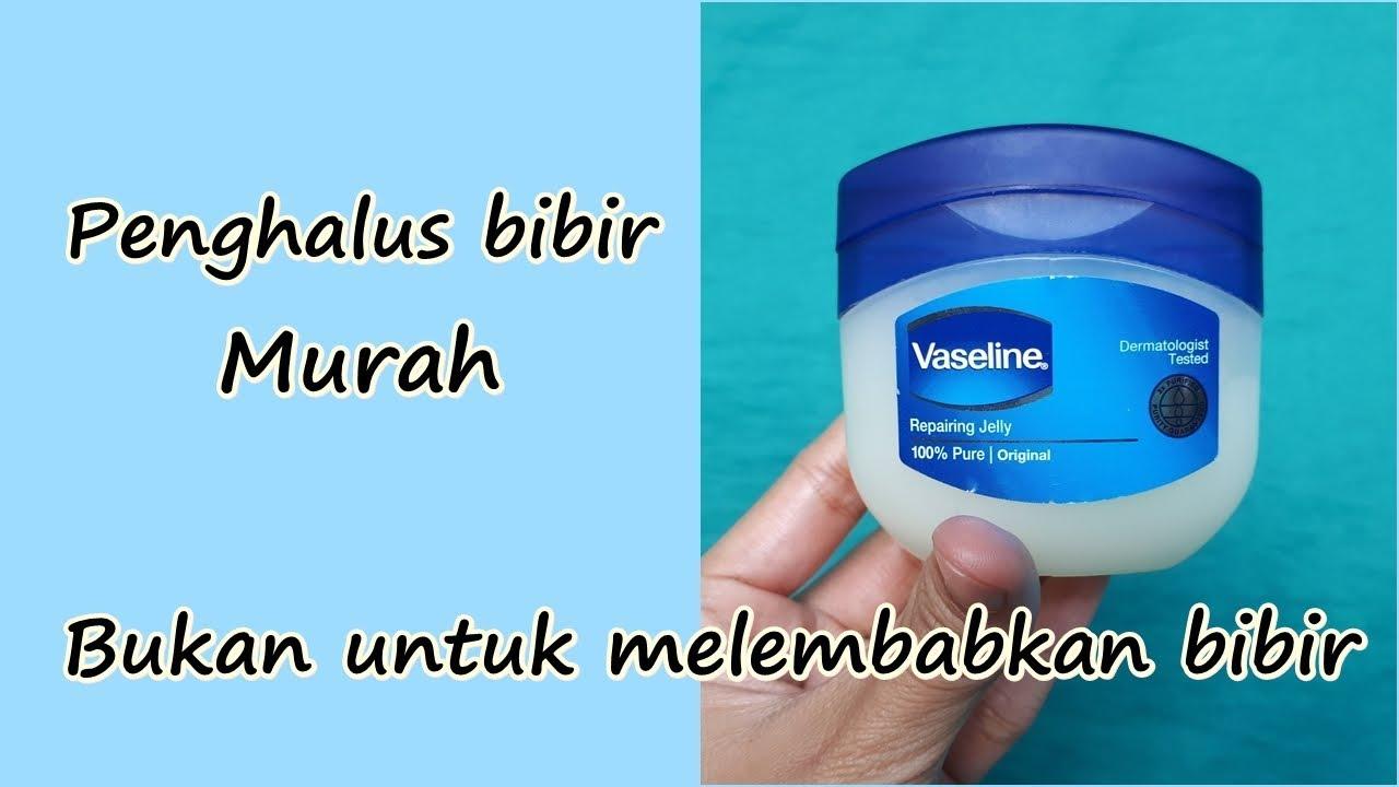 Penghalus Bibir Murah Vaseline Petroleum Repairing Jelly Bahasa Indonesia Youtube