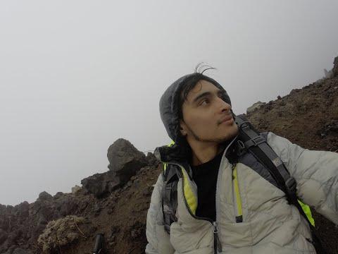 Ascensión al Volcán Calbuco, Un Año Después de la erupción [Go Pro Hero 3+]