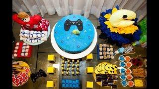 Festa Infantil - Tema Games - Mario Bross - Pacman - Minecraft e Roblox - Party Games