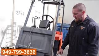 Electric Forklift Repair Shop