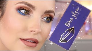 LOVE GLAM - klasyczny makijaż glamour z kolorem.