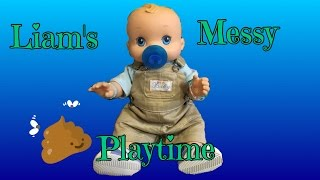 Liam's Messy Playtime