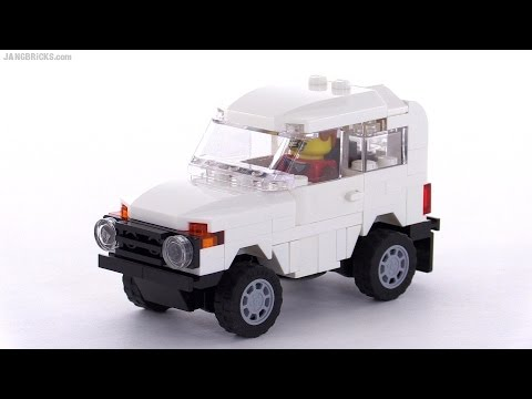 LEGO custom Lada Niva (Лада Нива) / VAZ-2121 MOC - Thank you Russian fans!