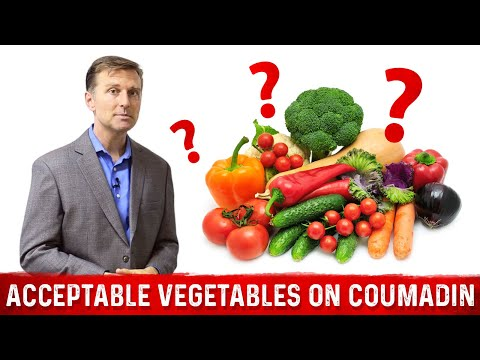 Acceptable Vegetables If On Warfarin Coumadin Youtube