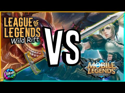 ⚔️ League of Legends: Wild Rift против Mobile Legends: Bang Bang
