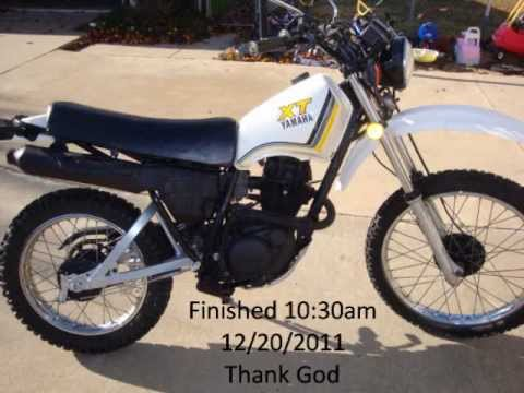 1983 Yamaha Xt200 Youtube. 1983 Yamaha Xt200. Yamaha. 1983 Yamaha Xt125 Wiring Diagram At Scoala.co