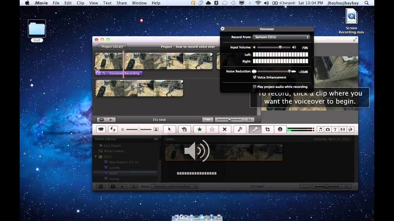 voice over software for pc