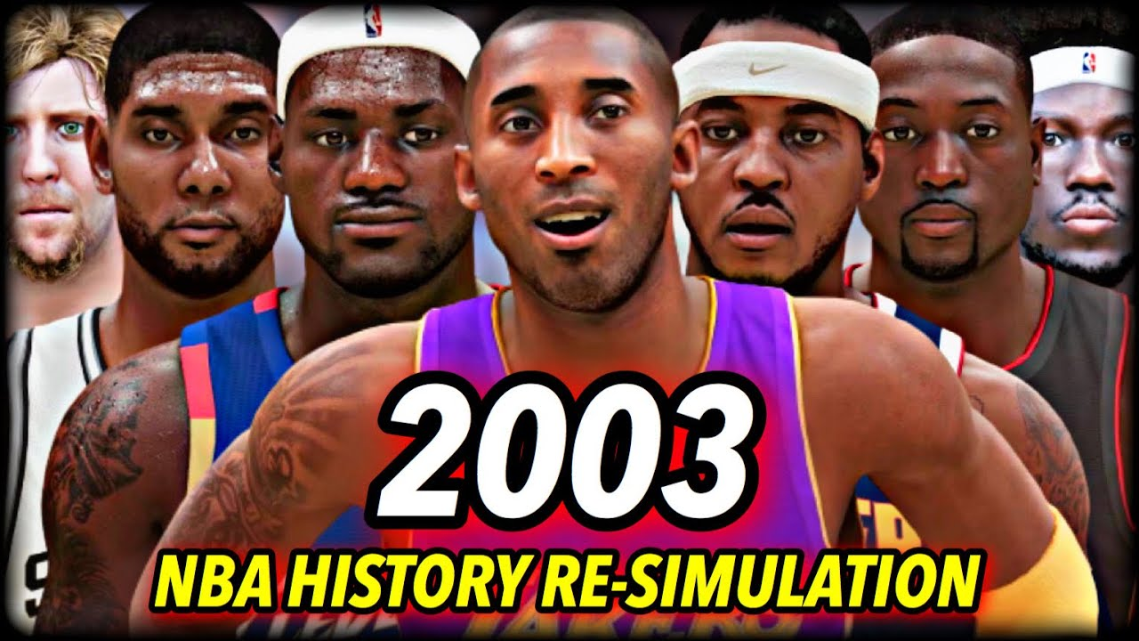 Download I Reset The NBA To 2003 And Re-Simulated NBA History... and this is what happened.