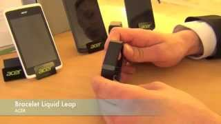 REPORTAGE High-Tech : Bracelet connecté ACER Liquid Leap