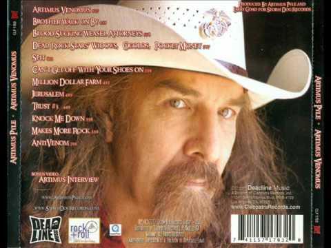 Artimus Pyle - Artimus Venomus - Full Album, Artwork, and Video - 2007