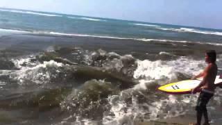 River Surfing Bacnotan La Union