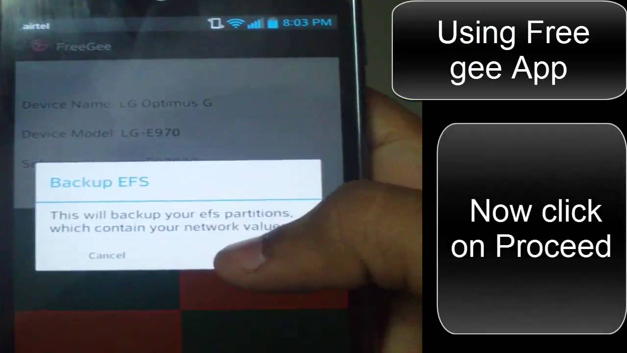 [Guide] how to take Efs Backup on your LG Optimus G [HD]
