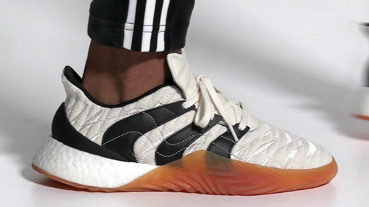 Adidas Sobakov Boost Shoes/White/Adidas
