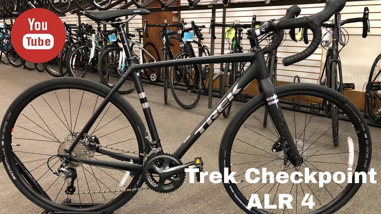 8cea2b46627 The brand new 2018 Trek Checkpoint ALR 4 - YouTube
