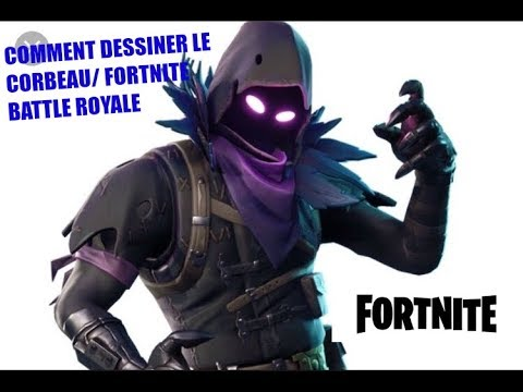 Comment Dessiner Le Corbeauraven De Fortnite Battle Royale Youtube