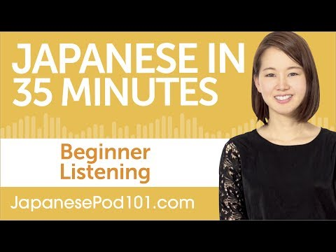 35 Minutes of Japanese Listening Comprehension for Beginners