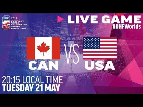 Canada vs. USA | Full Game | 2019 IIHF Ice Hockey World Championship