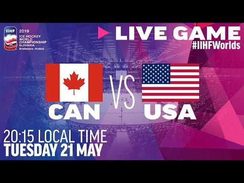 Canada vs. USA | Full Game | 2019 IIHF Ice Hockey World Championship
