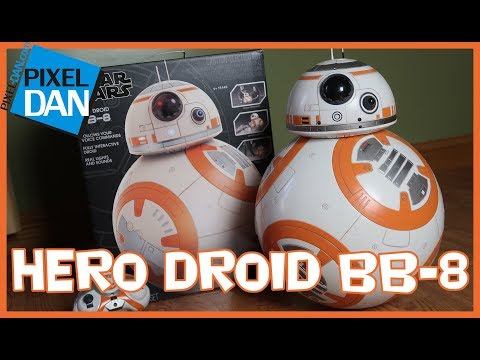 Star Wars Hero Droid BB-8 Interactive Replica Spin Master Video Review