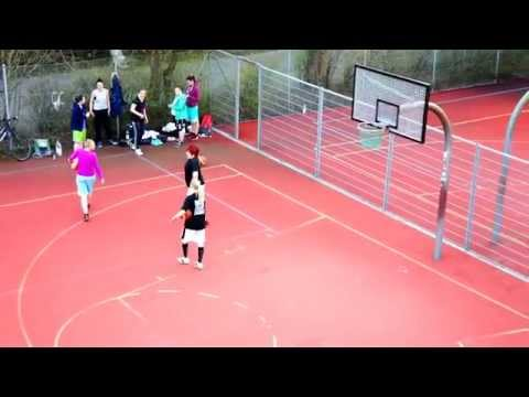 Female Basketball Team in Europe