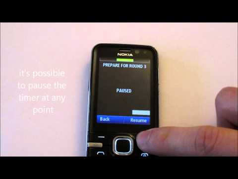 Round Timer X (v1.6.0) with phone without touchscreen