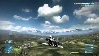 Battlefield 3 Beta - Leaked Caspian Border Jet Gameplay Part 3 (PC)