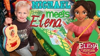 Elena of Avalor Signed Michael