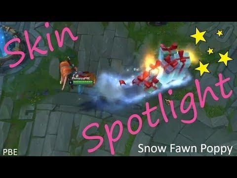Snow Fawn Poppy ~ Pre-Release Skin Spotlight