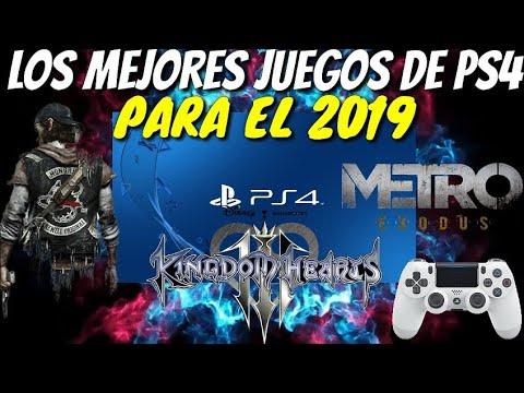 Los 28 Juegos Mas Esperados Para Ps4 Del 2019 Youtube