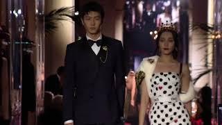 迪麗熱巴دىلرەبا دىلمۇرات ♥DOLCE&GABBANA米蘭時裝週-T台首秀