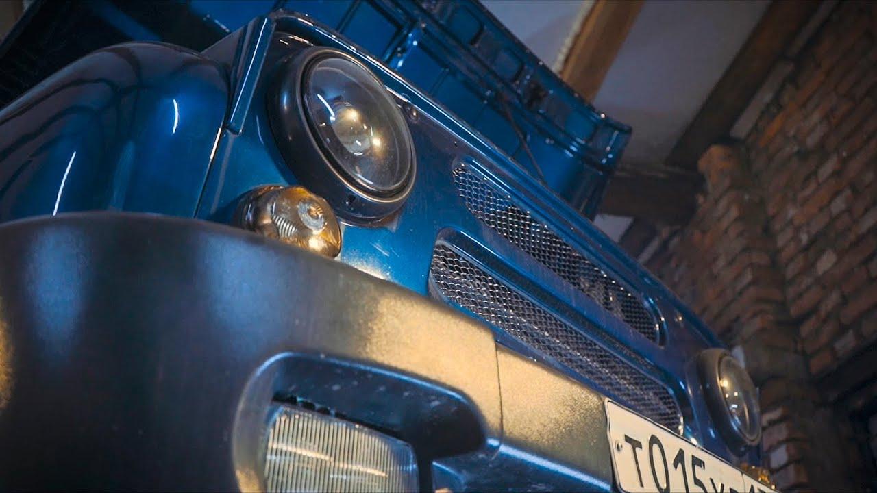УАЗик быстрее Lamborghini. Начало.