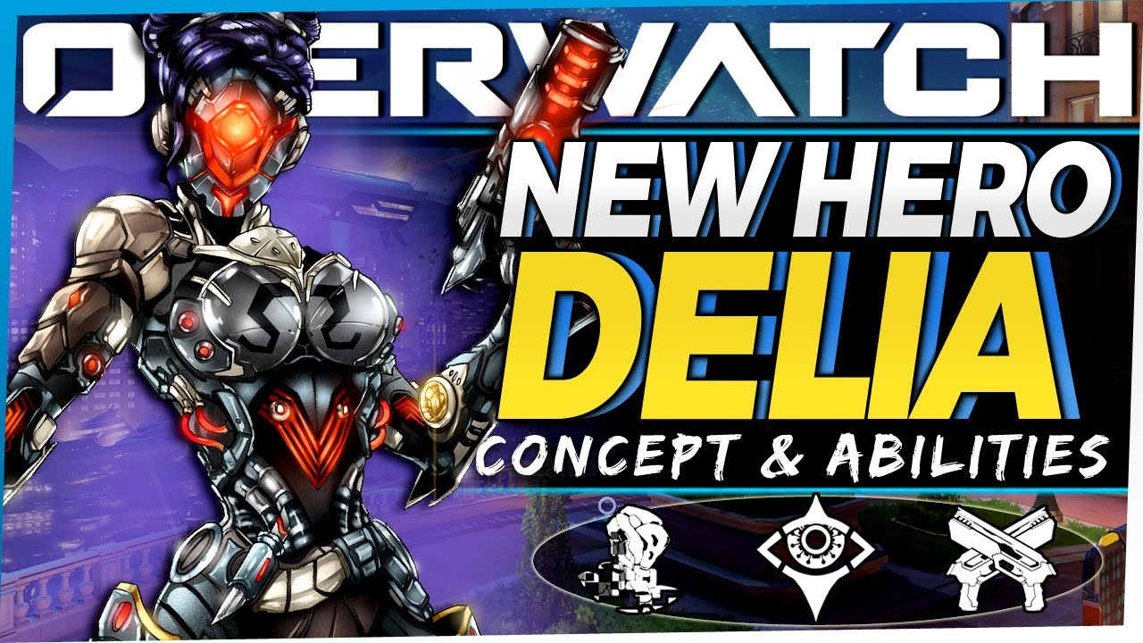 Download Overwatch NEW Omnic Hero Delia - Now Playable! - Concept, Lore, Abilities, and more!