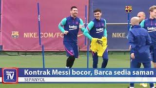 Kontrak Messi bocor, Barca sedia saman El Mundo