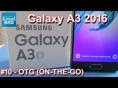 Samsung Galaxy A3 2016 - USB OTG (ON-THE-GO) - Mouse, teclado e pendrive