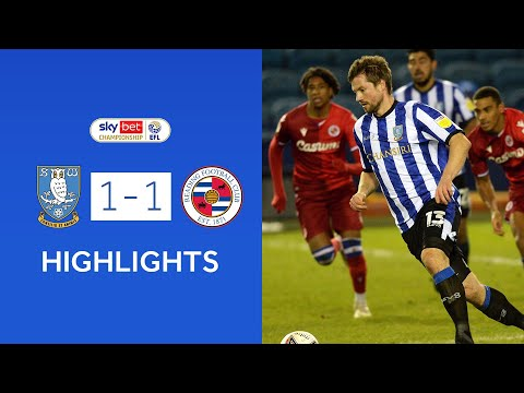 Sheffield Wed Reading Goals And Highlights