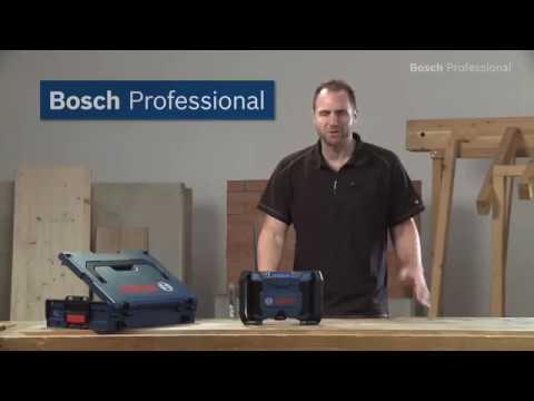 bosch baustellenradio gml 10 8 v li professional youtube. Black Bedroom Furniture Sets. Home Design Ideas