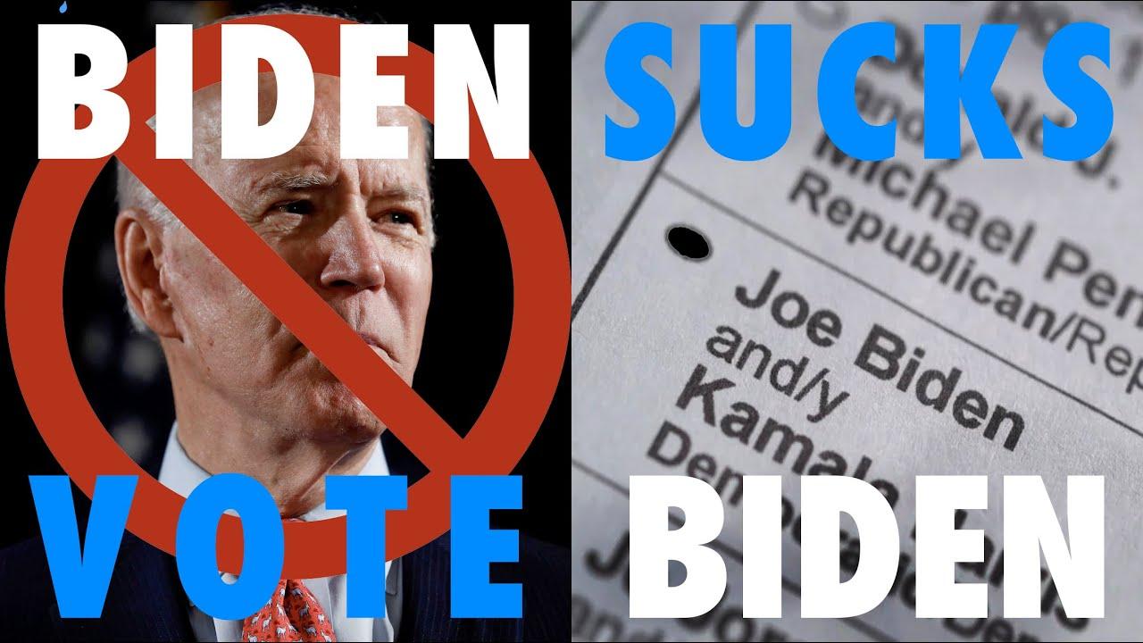 Biden Sucks, Vote Biden — Election Day 2020 Song
