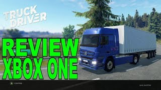 TRUCK DRIVER REVIEW XBOX ONE X