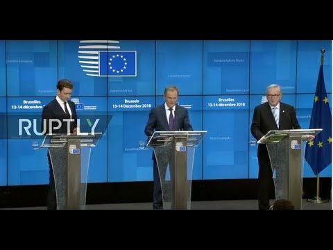 LIVE: Day 2 of European Council summit in Brussels: press conference with Tusk, Juncker and Kurz