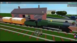ROBLOX: Driving a GWR 2800 at Gardersford Heritage Railway,until it goes wrong.