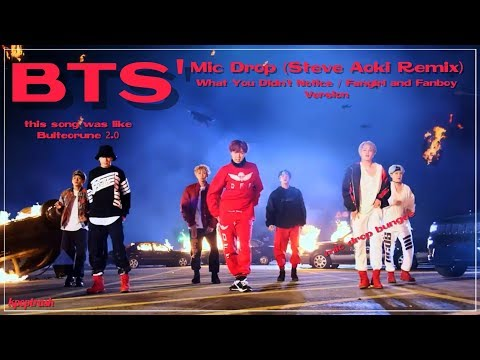 BTS' Mic Drop - What You Didn't Notice/Fangirl and Fanboy Ver. [Requested]