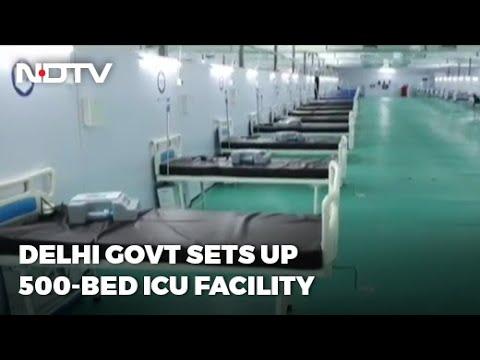 Covid-19 News: Delhi Government Sets Up 500-Bed ICU Facility