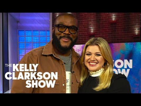 None - Tyler Perry Admits to Crying to Kelly Clarkson's Song (WATCH)