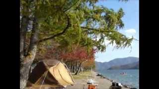 中禅寺湖は時々突風が吹き荒れます.