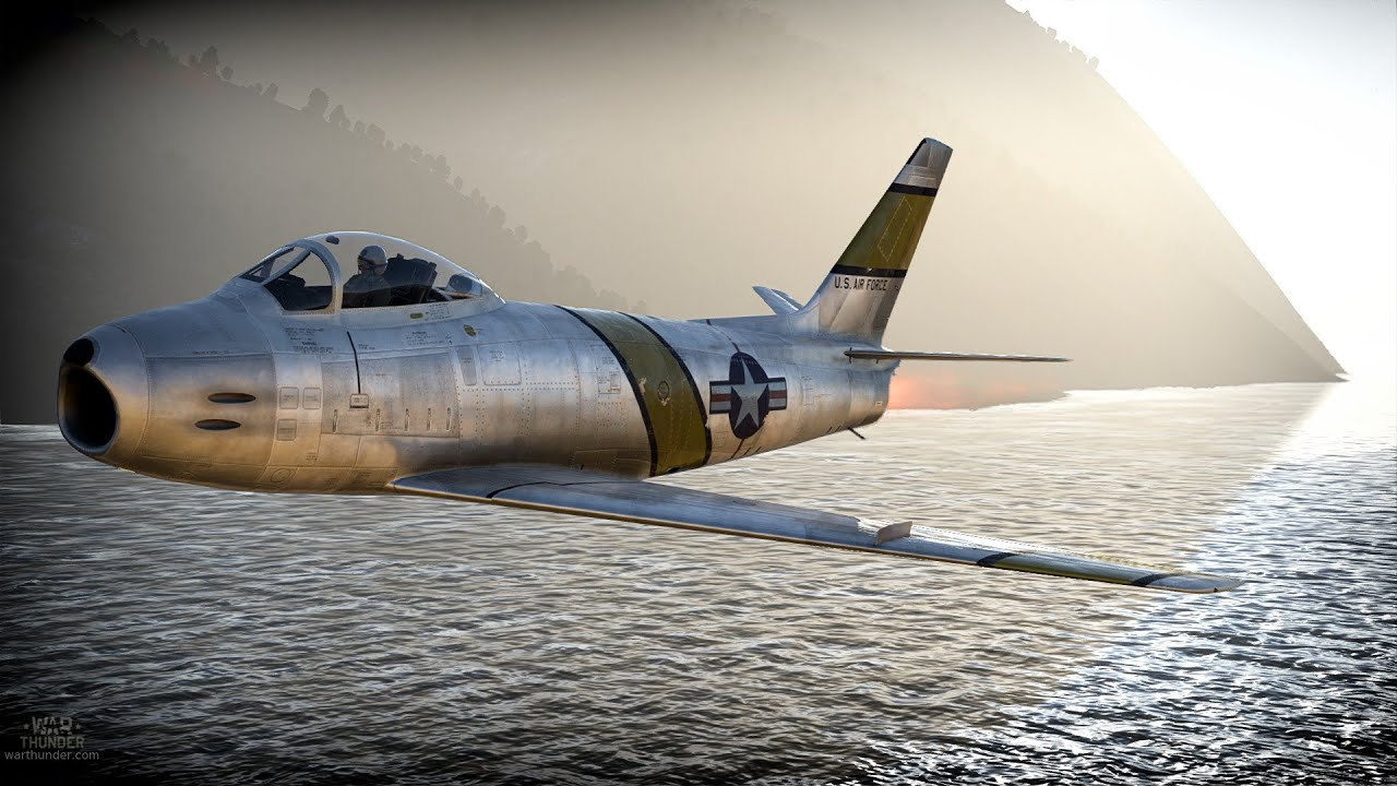 F86F25 Sabre  WarThunderWiki