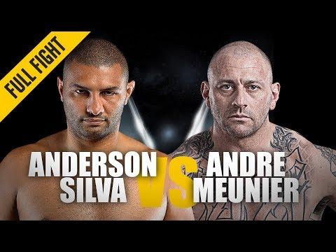 Anderson Silva vs. Andre Meunier | ONE Full Fight | Knockout Debut | April 2019