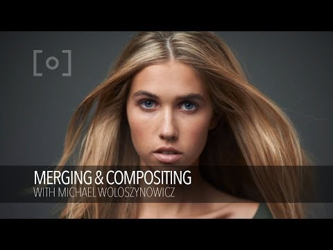 Merging & Compositing Hair For High End Fashion Portraiture