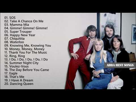 ABBA Greatest Hits Full Album - ABBA Best Songs Ever - ABBA Playlist (HQ)